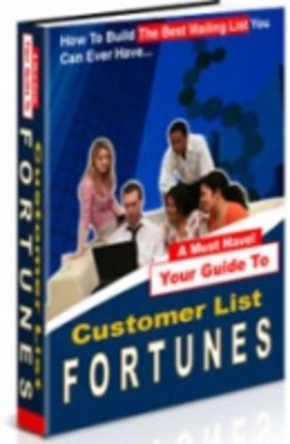Product picture Costumer list fortunes - build your paid costumers lists