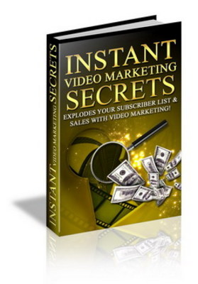 Product picture Instant Video Marketing Secrets- Learn How To Drive Traffic